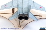 Top view - again the exhaust area and slight streaks from flap and aileron pivots.