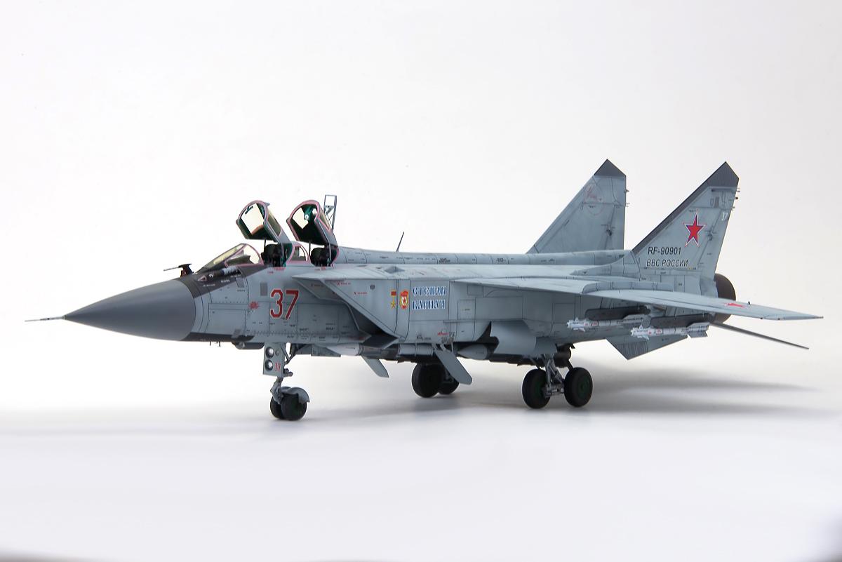 MiG-31BM-1   VVS modelling American Express Netherlands