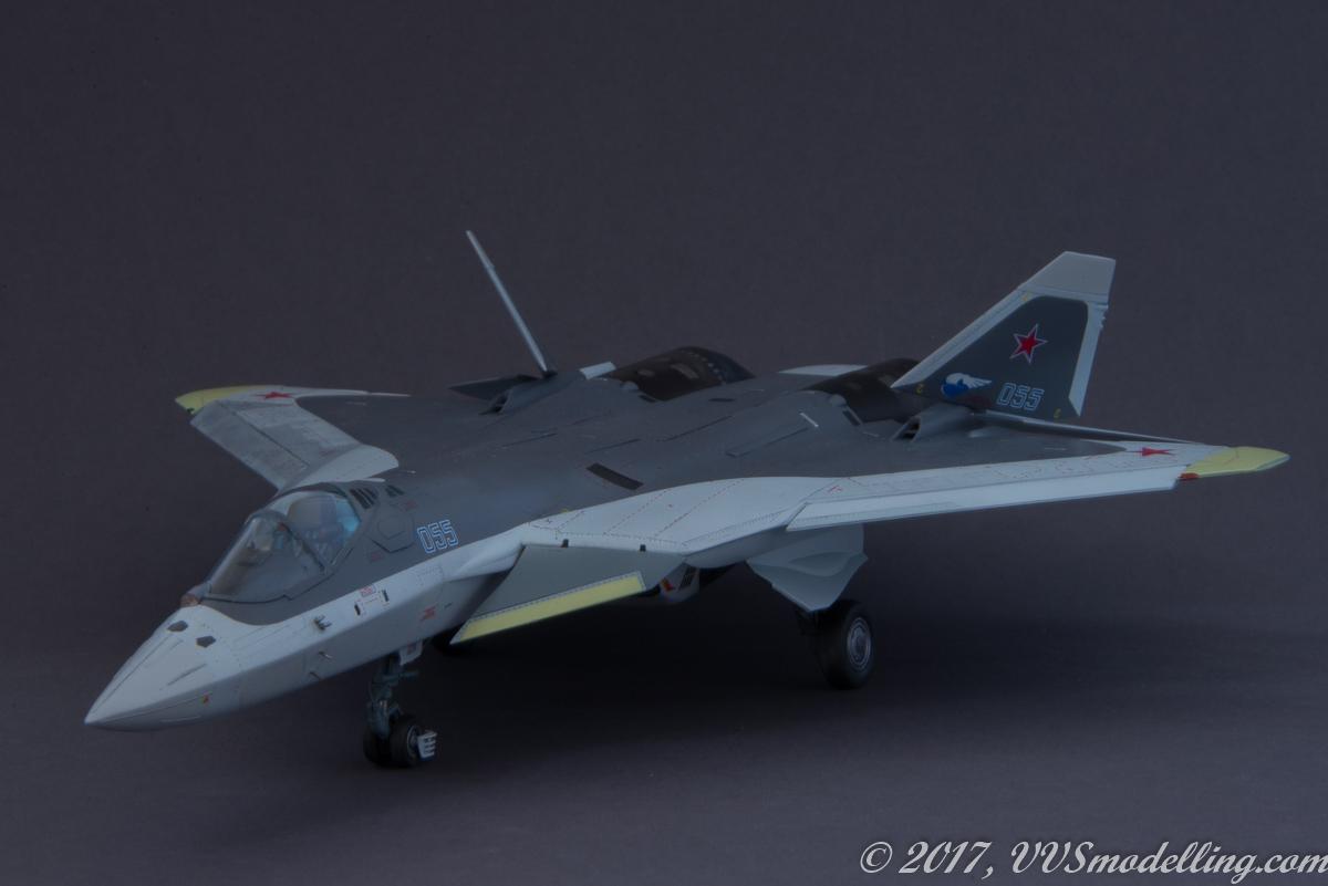1:72 Begemot Decals #72-065 Sukhoi Т-50 PAK-FA for Hobbyboss kit